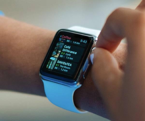 Smartwatch technology