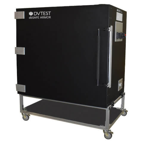 DVTEST dbSAFE ARMOR Series RF Shield Boxes ideal for 5G mmWave test