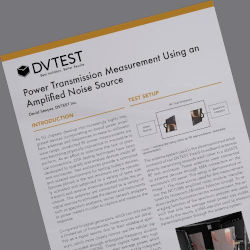 Why Experts use an Amplified Noise Source for Power Transmission Measurement in OTA Testing